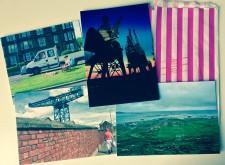 Postcards for blog